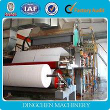 2880mm facial tissue paper machine/toilet tissue paper making machine/kitchen paper towel machine