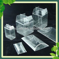 clear PET folding box