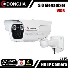 DONGJIA 3mp wdr varifocal outdoor metal housing water proof ir bullet camera
