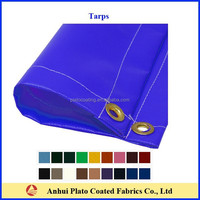 UV mildew resistant waterproof tarp fabric