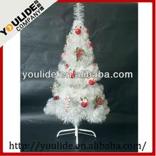 1.5m PVC Xmas tree Artificial Christmas Plastic Tree With LED light