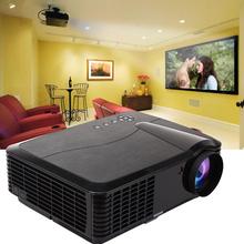 CE 2600 lúmenes 160W de audio portátil, video full hd proyector de cine en casa, 3D LED proyector al por mayor precio
