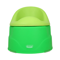 plastic baby potty chair baby potty seat GREEN color ZBB18