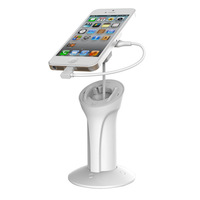 New Arrival retractable cable mobile phone stand holder for retailer display