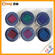 High quality color Magnetic Balls Puzzles neocube 5mm Game