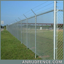 China Manufacturer Powder Coated Metal Chain Link Dog Outdoor Fence Panel