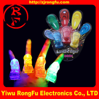 China factory directly sale Party concert gift flashing led finger lights ring