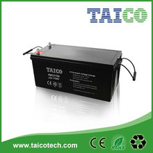 170ah VRLA 12V bateria solar de la luz de calle