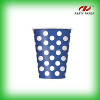 Promotional Personalized Paper Cup For Cola