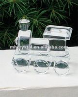 Clear Crystal Choo Choo Train MH-G0237