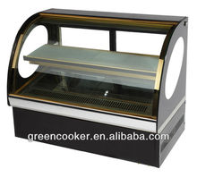 1m table refrigerator cake display in bakery
