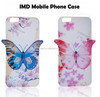 Factory price hot sell 3D style TPU IMD phone cover case for iPhone6 , 3D butterfly case for iphone6. IMD phone case for iphone6