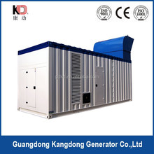 Sell Industrial silenced generator set,large silent gensets