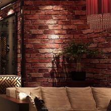 brick design vinyl 3D Wallpaper for home decoration wallcovering