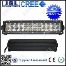 JGL manufacturer! 55 inch 500w off road Cree led light bar IP68, CE, RoHS