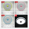 Round radar motion sensor led ceiling light/led light with radar motion sensor