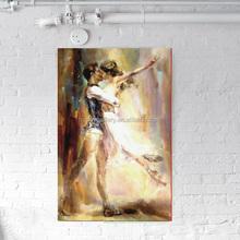 dance couple painting