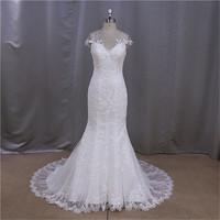floral little cuted sweetheart mermaid bride wedding gown