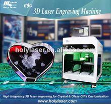 La máquina 3d, máquina de grabado láser precio