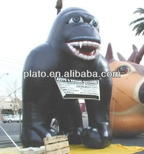 Inflatable giant king kong for promotion