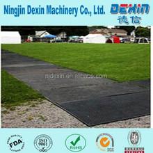Temporary HDPE ground protection mat, HDPE construction road mat, high density polyethylene ground mat