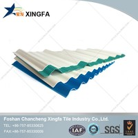 Strong lightweight material, plastic roofing price