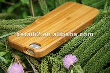 Wholesale natural bamboo wood phone case
