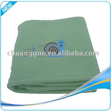 Professional manufacture baby blanket organic cotton