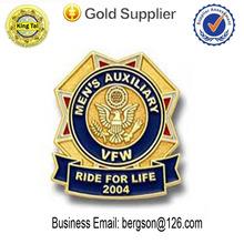 custom Metal military lapel pin badge for lapel pin manufacturers china