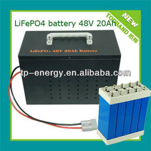 New Arrival Fast Charging 48V 20Ah~300Ah Electric Scooter LiFePO4 Battery Pack with BMS & Charger