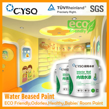 Water Based excellent children's room paint