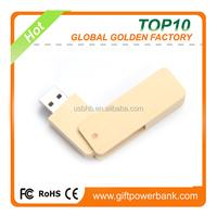 wooden personalized gadgets twister usb flash drive 8GB bulk cheap
