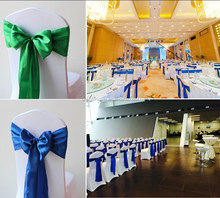 Fashion Satin Sashes for Wedding / Banquet Decoration