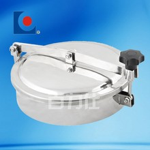 SS304/316 Sanitary stainless steel manhole cover with frame