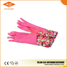 High Quality Cheap Price Long Sleeve Household Rubber Glove, Cleaning Household Latex Glove