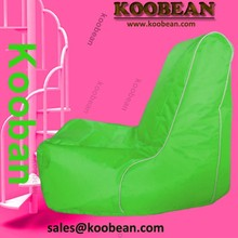 high back bean bag chair, outdoor waterproof children portable beanbag with mobile holder