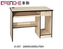 hot selling and best price compact computer desk, standard computer desk height