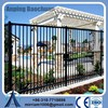 Hot new products for 2015 Residential/ commercial 6' height panel width 3 rails wrought iron railing panels