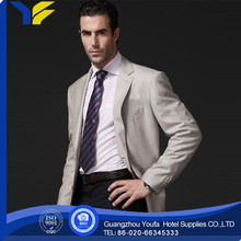 anti-wrinkle Guangzhou 100% polyester suit design grace in shanghai