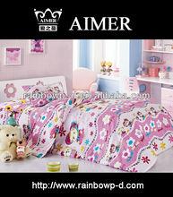 print cotton children bed duvet