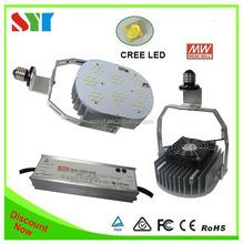 High quality Aluminum 120w e40 led canopy light retrofit kit replace 400w metal halid