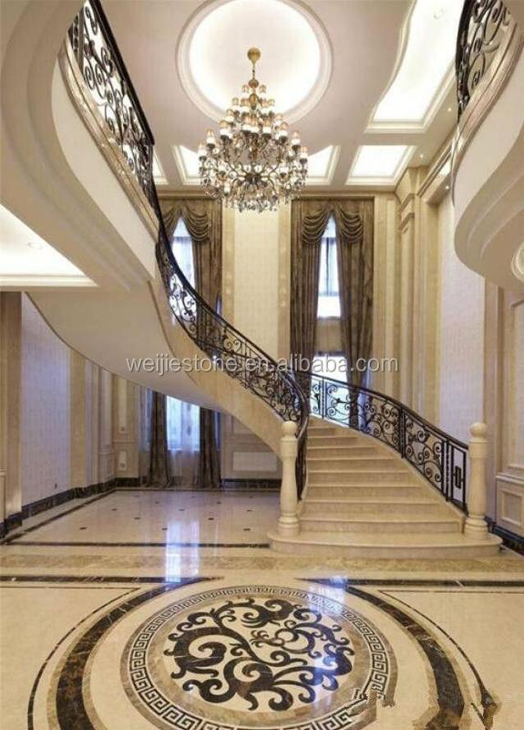 Design Buy Waterjet Marble Tiles Floor PatternFloor