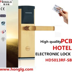 Trade Assurance Supplier Sensor Digital Electronic Lock with Hotel Card Lock System