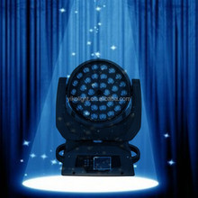 stage backdrop decorations 36*10w led zoom moving head