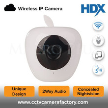 2015 Hot design apple shape 720P security 2 Way Audio & Motion Detection IP camera