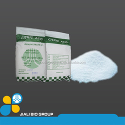 Citrate Acid Monohydrate CONTAIN >99% JiaLi Bio