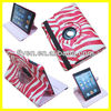 Red Pinto Magnetic For iPad Mini 360 Rotating Ultra Slim Smart Cover PU Leather Case Stand Wholesale Cheap Lot Cases Covers