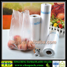 clear plastic shopping plastic bags,freezer bag on roll