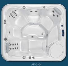 air jet massage outdoor spa hot tub