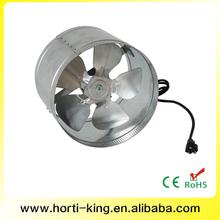 Hydroponics 150mm Duct Booster Fan Ventilation, Industrial fan motors